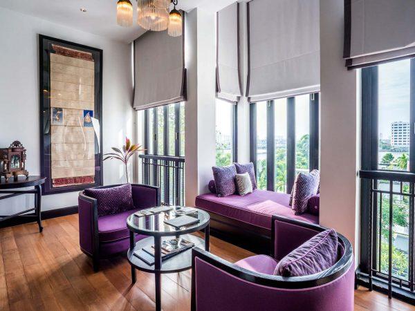 The Siam Hotel Bangkok Villa Pool Courtyard