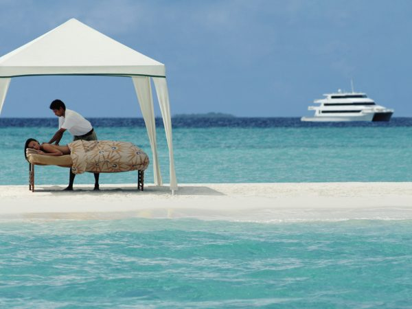 Four Seasons Maldives Explorer Cruise floating spa