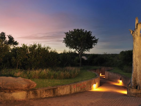 sabi sabi Earth lodge Entrance