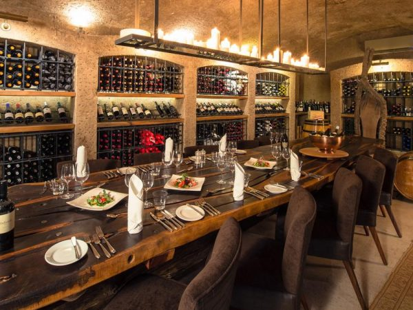 sabi sabi Earth lodge Wine Cellar