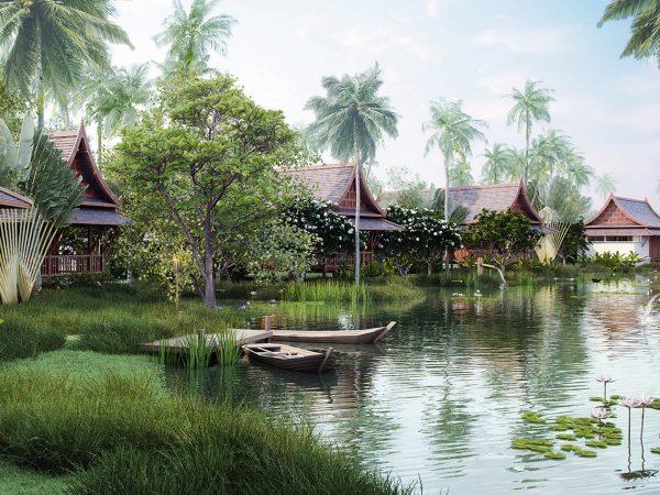 sanchaya bintan Lawan Thai Villassanchaya bintan Lawan Thai Villas