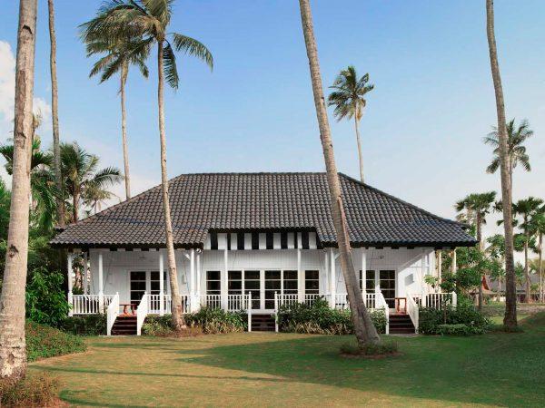 sanchaya bintan two bedroom villa outer view