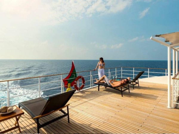 Four Seasons Maldives Explorer Cruise sundeck