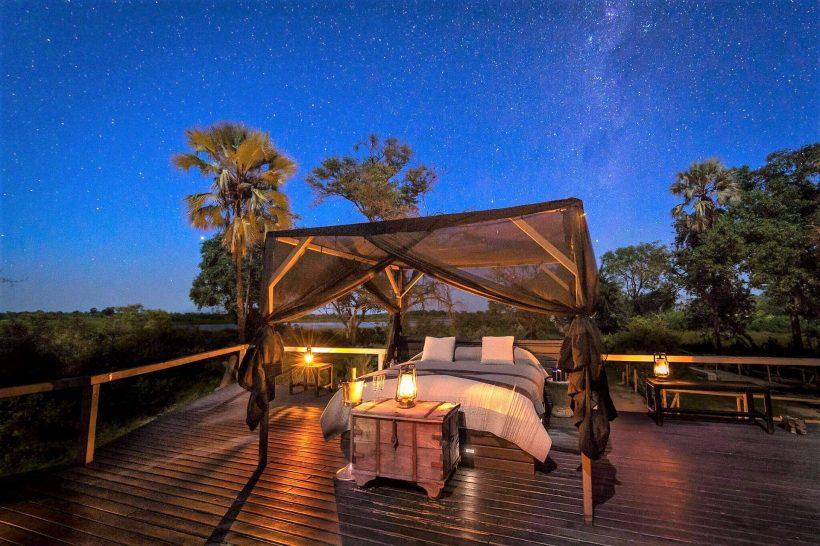 Abu Camp Botswana Starbed