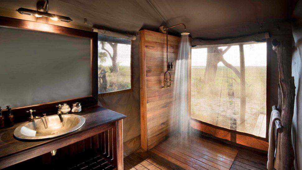 African Bush Camps Linyanti Bush Camp Bathroom