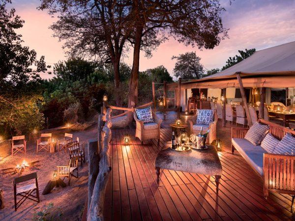 African Bush Camps Linyanti Bush Camp Dinner