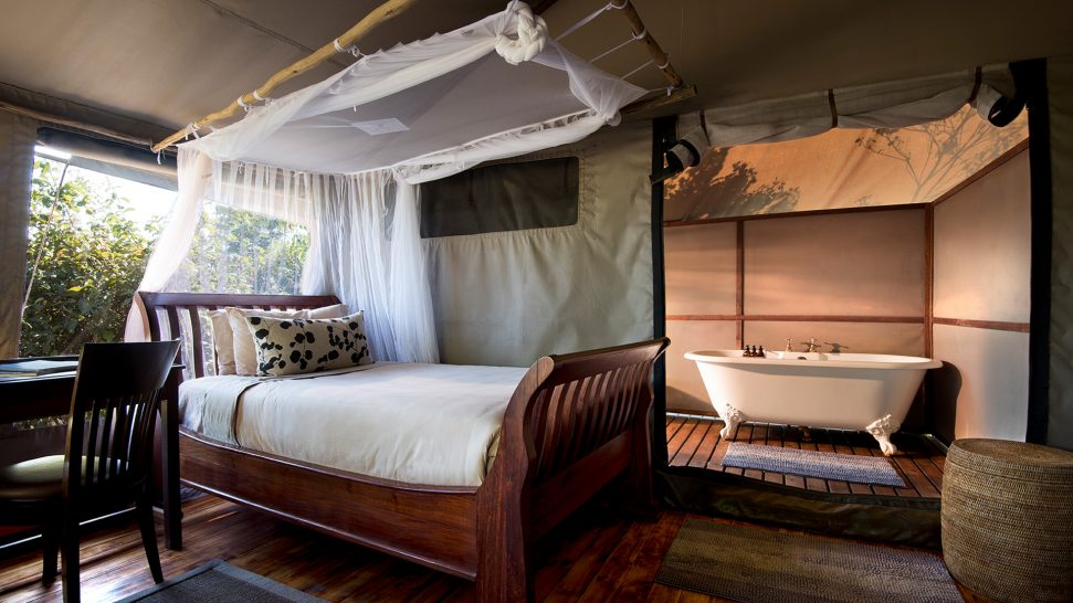 African Bush Camps Linyanti Bush Camp Family Tents