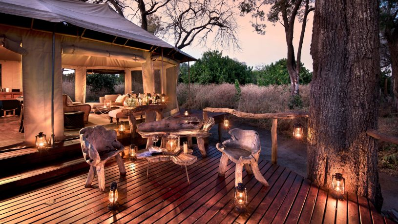 African Bush Camps Linyanti Ebony Dinner