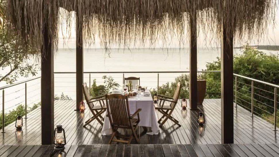 Anantara Bazaruto Island Resort In Villa Dining