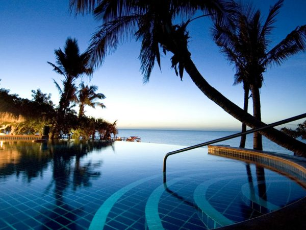 Anantara Bazaruto Island Resort Pool Night View