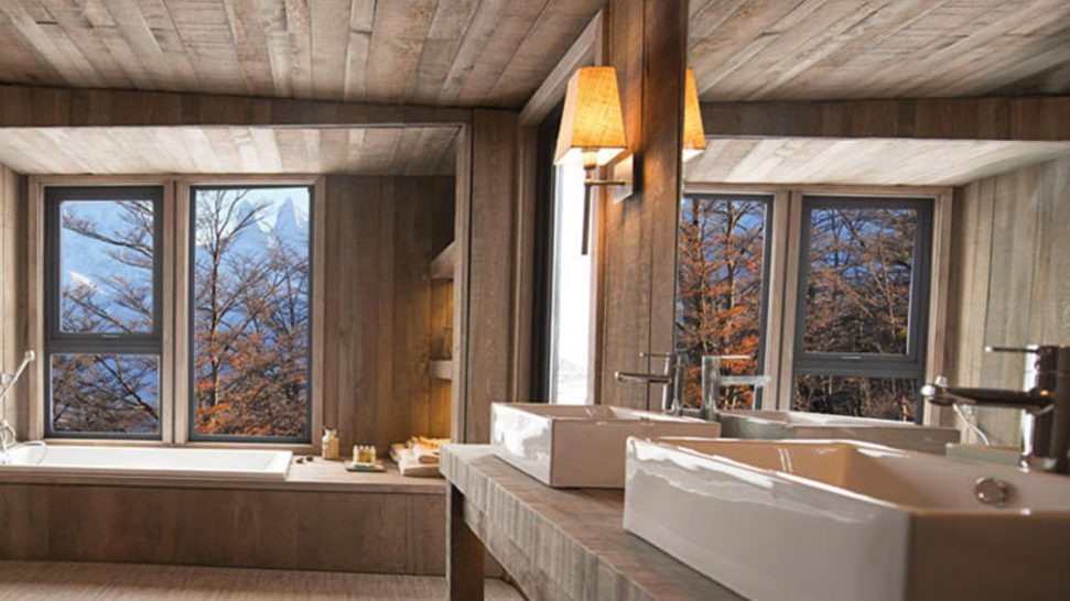 Awasi Patagonia Lodge Bathroom