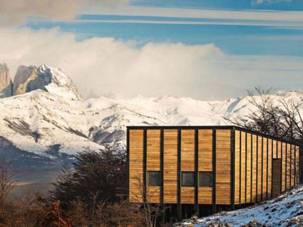 Awasi Patagonia Lodge Outside View