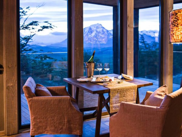Awasi Patagonia Lodge Romantic Dinner