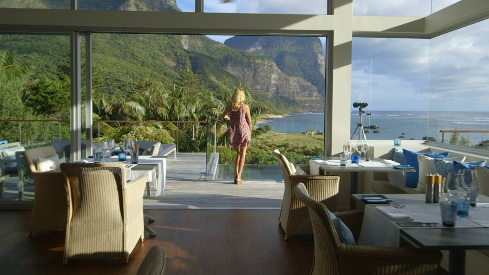 Capella Lodge Lord Howe Island Dining