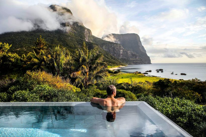 Capella Lodge Lord Howe Island Pool View
