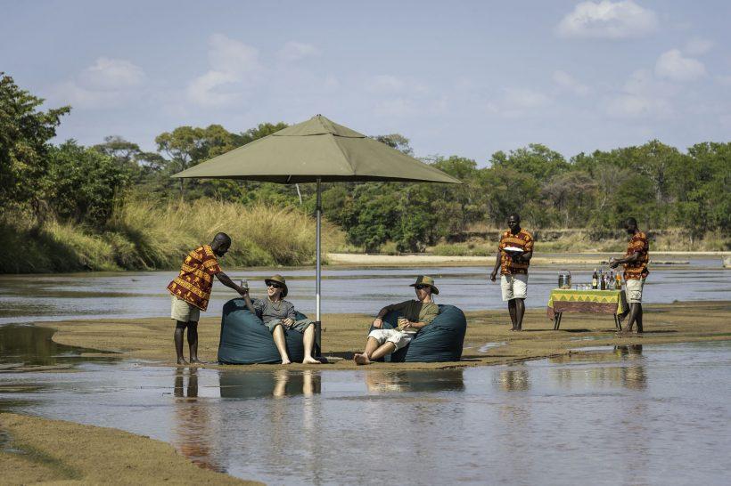 Chindeni Bush Camp South Luangwa Bush Dining