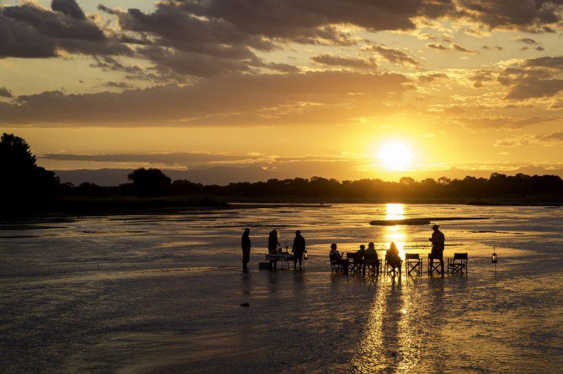 Chindeni Bush Camp South Luangwa Sundowners