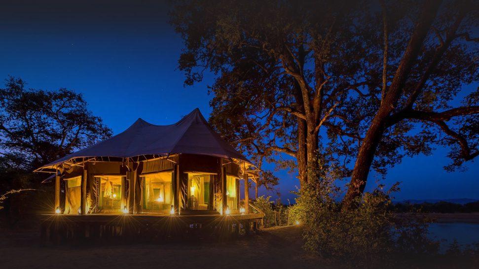 Chindeni Bush Camp South Luangwa Tent Exterior