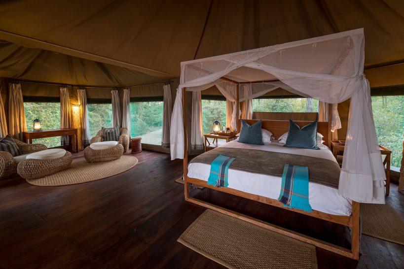 Chindeni Bush Camp South Luangwa Tent Room