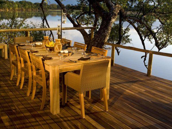 Chindeni Bushcamp Dining table