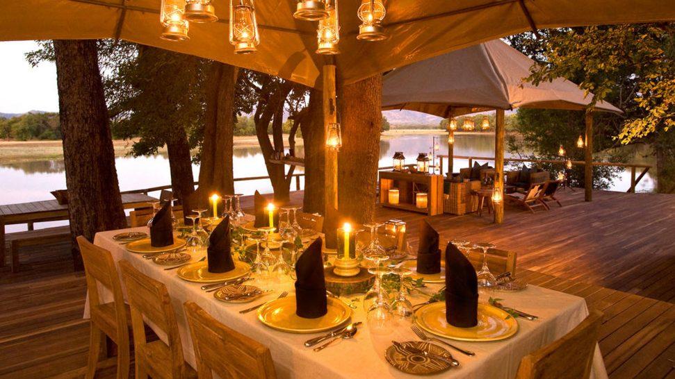 Chindeni Bushcamp Evening Dining