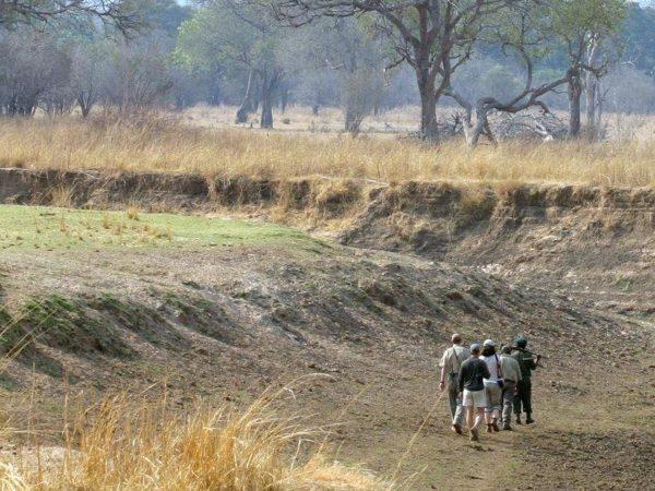 Chindeni Bushcamp Outside Area