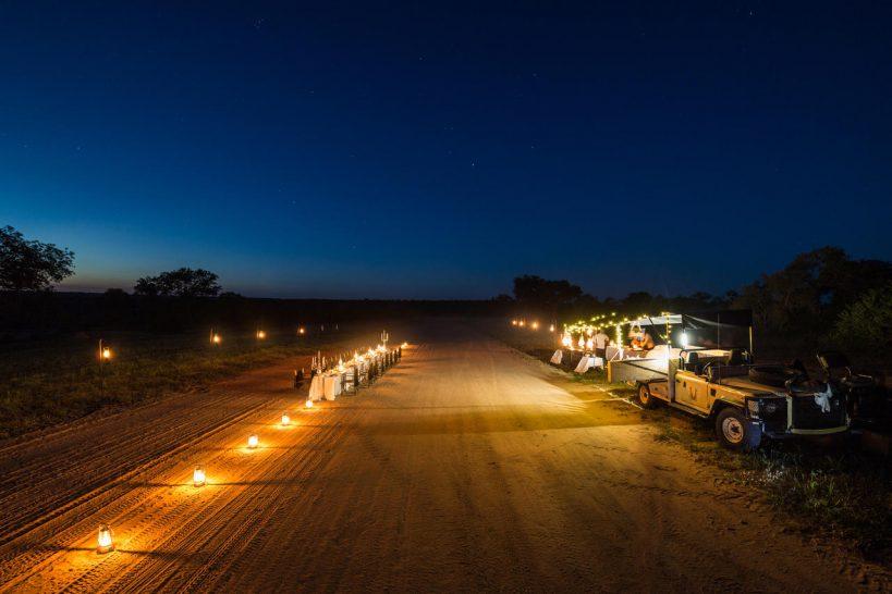 Chitwa Chitwa Game Lodge Airstip Dinner