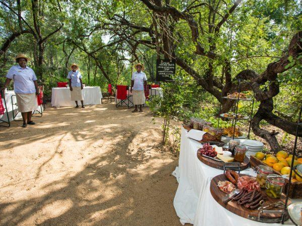 Chitwa Chitwa Game Lodge Bush Breakfast