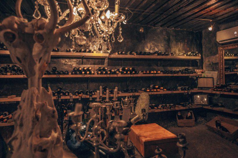 Chitwa Chitwa Game Lodge Wine Cellar