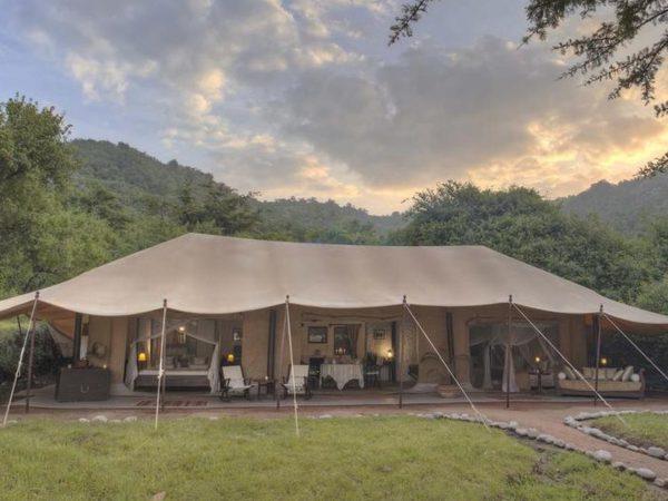 Cottar's 1920s Safari Camp Exterior