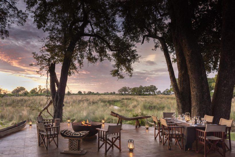 Duba Explorers Camp Dining Area