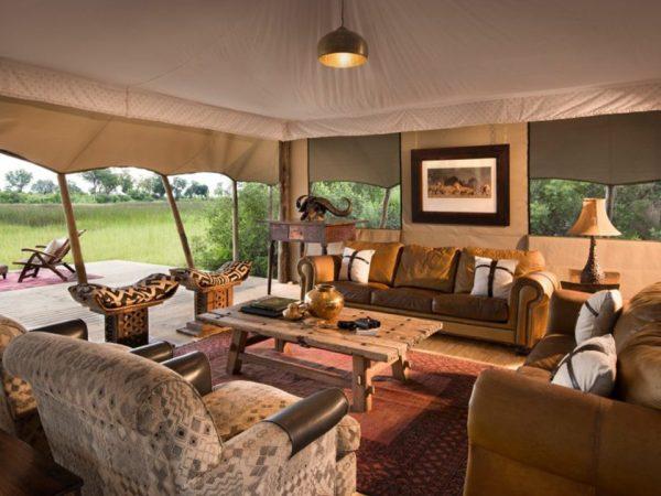 Duba Explorers Camp Lobby