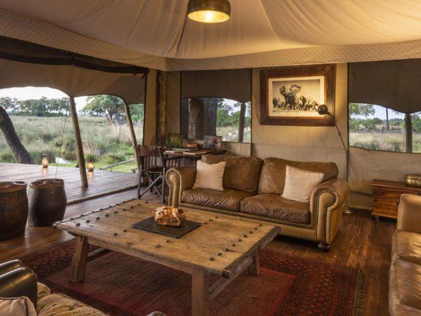 Duba Explorers Camp Lobby View