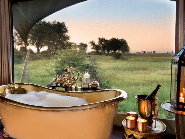 Duba Plains Camp Bathroom