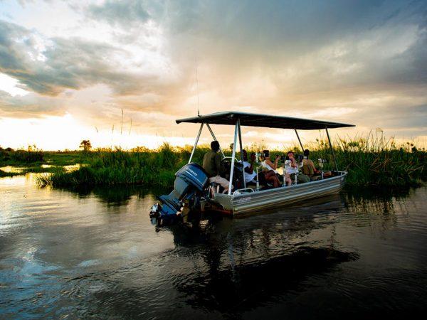 Duba Plains Camp Motorized Boating