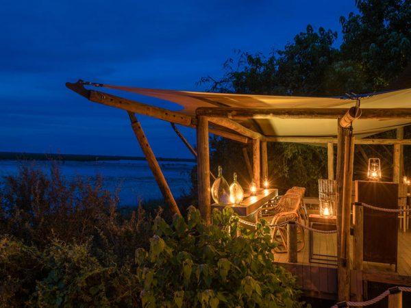 Duma Tau Lobby Night View