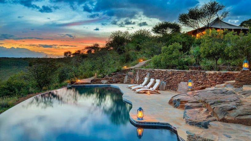 Elewana Loisaba Tented Camp pool