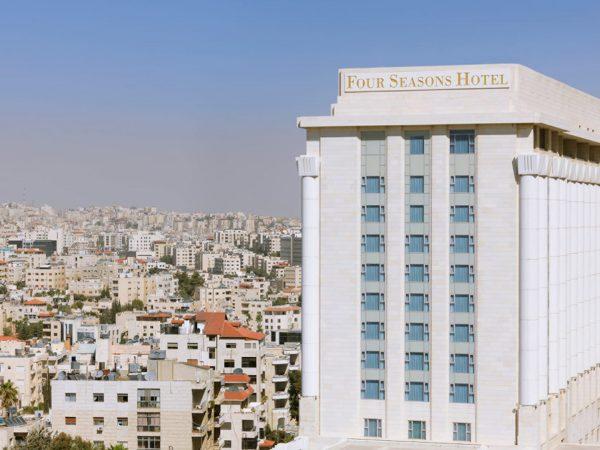 Four Seasons Hotel Amman Exterior