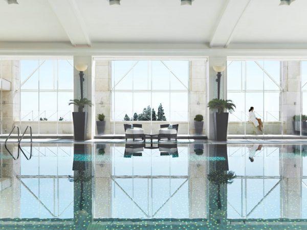 Four Seasons Hotel Amman Lobby View