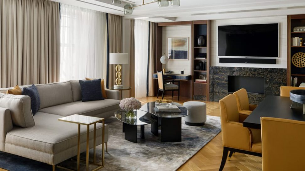 Four Seasons Hotel London at Ten Trinity Square Two Bedroom Residence
