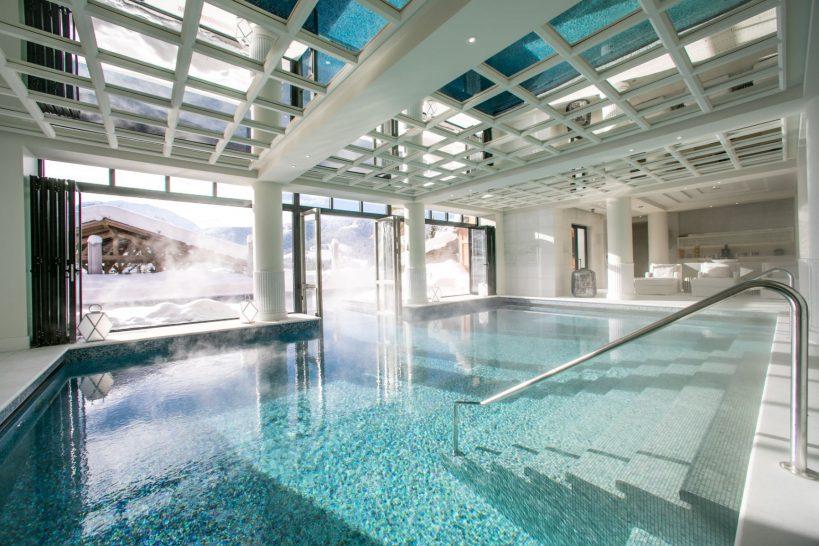 Four Seasons Hotel Megeve Pool