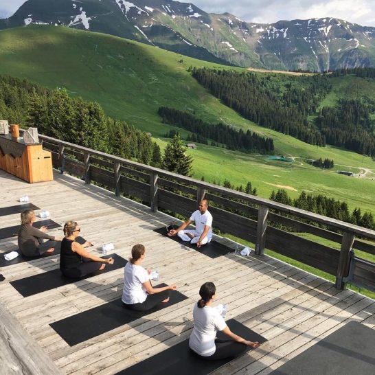 Four Seasons Hotel Megeve Yoga