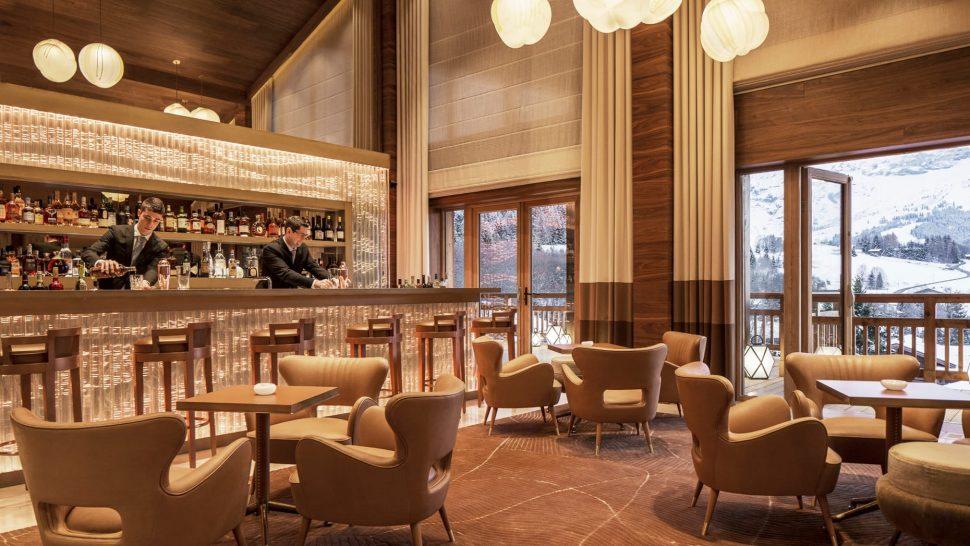 Four Seasons Hotel Megve Bar Edmond