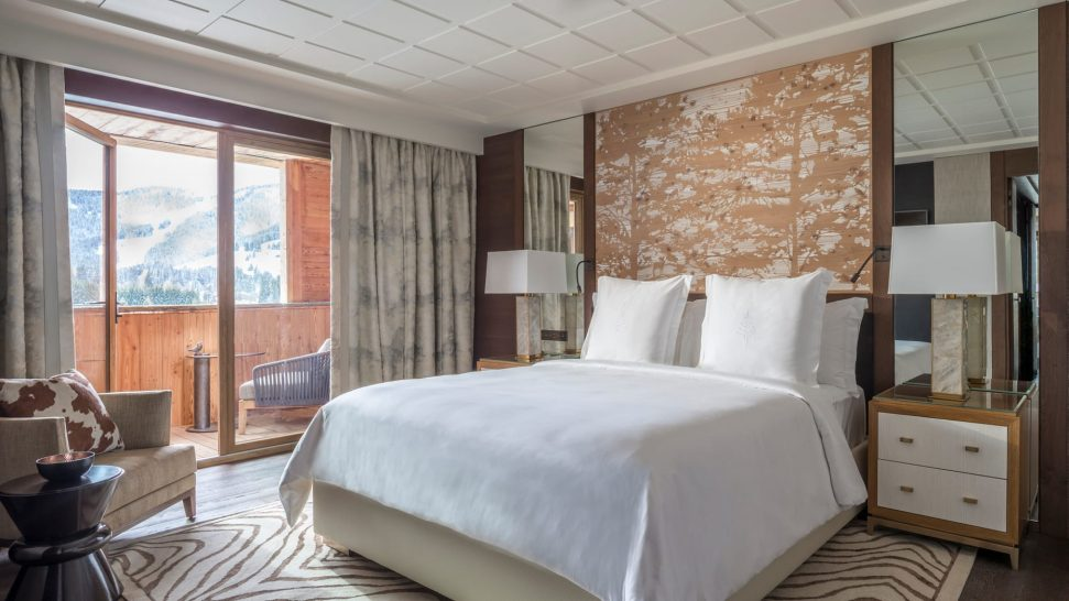 Four Seasons Hotel Megve Deluxe One-Bedroom Suite