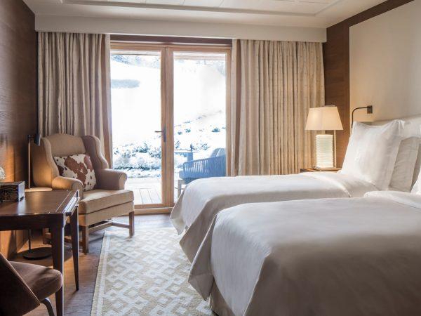 Four Seasons Hotel Megve Deluxe Room
