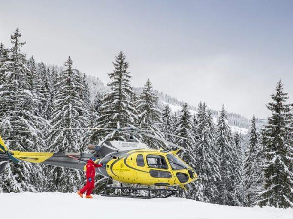 Four Seasons Hotel megeve Heli Ski Safari