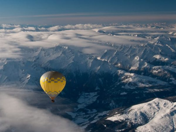 Four Seasons Hotel Megve Hot Air Balloon