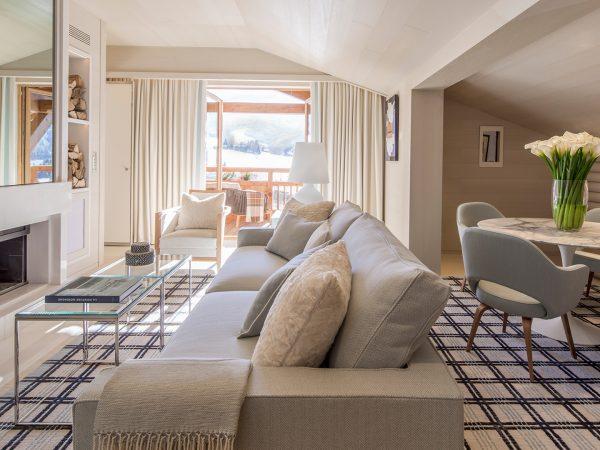 Four Seasons Hotel Megve Living Area