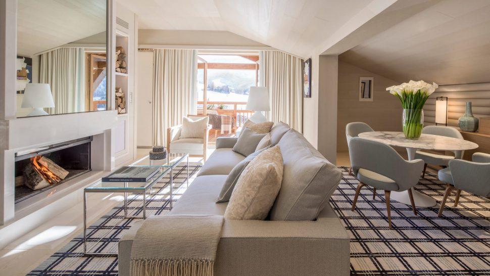 Four Seasons Hotel Megve Suite Rochebrune
