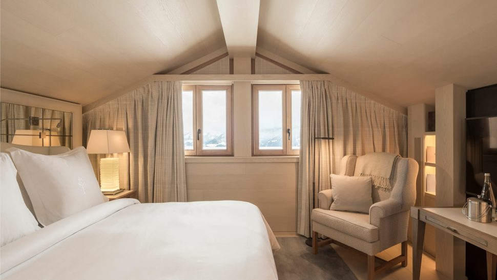 Four Seasons Hotel Megve Superior Room